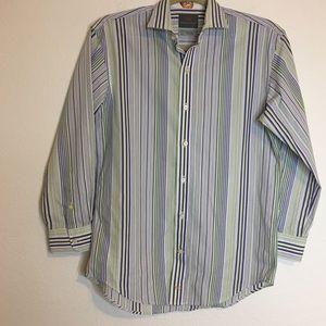 Thomas Dean Boy Shirt Collar Long Sleeve 10/12